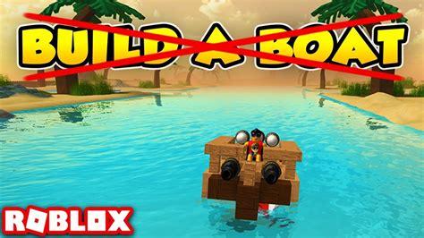 roblox uncopylocked build  boat  treasure roblox
