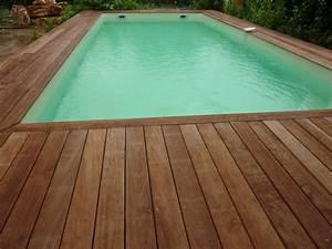 terrasse piscine bois ma terrasse With terrasse en bois piscine