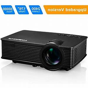 Projector  Phonect 2400 Lux 4inch Mini Projector