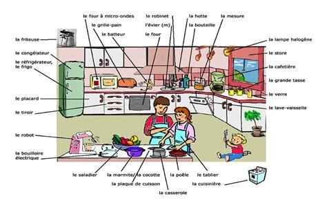 cours de cuisine sur autour de la gastronomie la cuisine vocabulaire de base