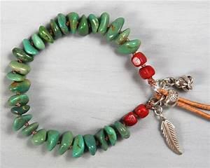 Handmade, Turquoise, Adjustable, Bracelet