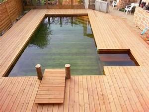 Piscine Avec Terrasse Bois : toute l information utile sur les piscines en bois sans liner ~ Nature-et-papiers.com Idées de Décoration