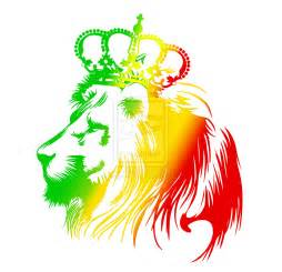 Rasta Lion Graphic