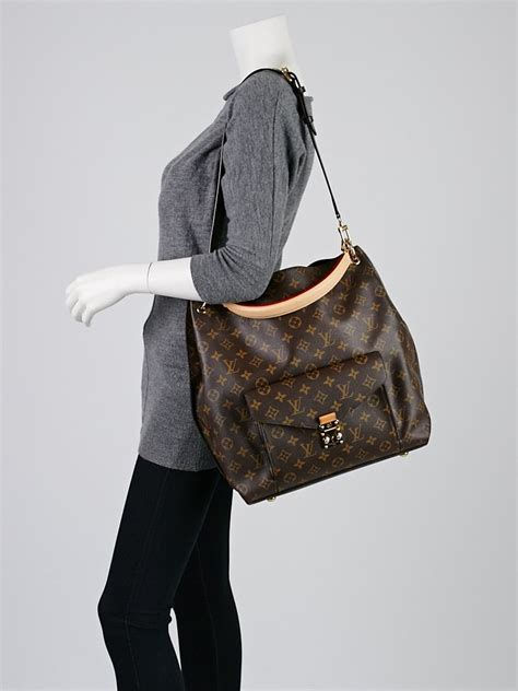 louis vuitton monogram canvas metis bag handbags
