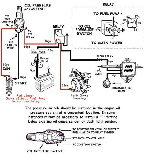 electric fuel pump  electric choke