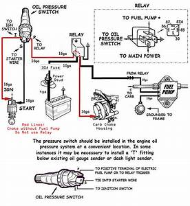 Electric Fuel Pump And Oil Pressure Kill Switch