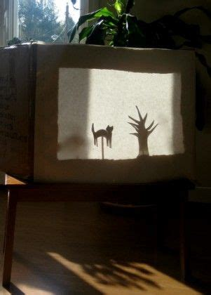 shadow puppetry and shadow play for children set by step