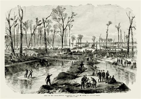 siege canal the engineers at vicksburg part four grant 39 s canal
