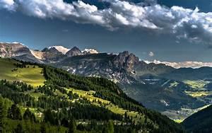 nature, , landscape, , dolomites, , mountains, , , alps, , forest