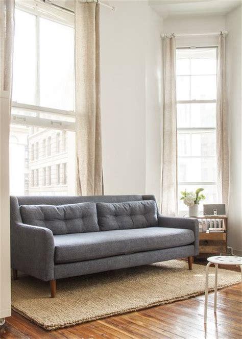 sofas west elm and denim sofa on pinterest