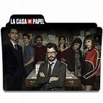 Heist Papel Money Casa Folder Icon Deviantart