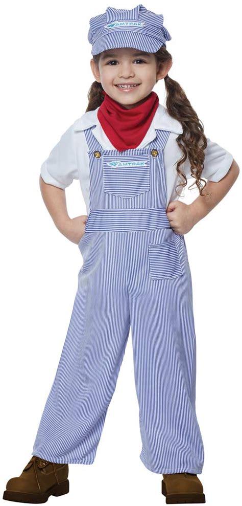 Toddler and Kids Amtrak Train Engineer Costume   Costume Craze