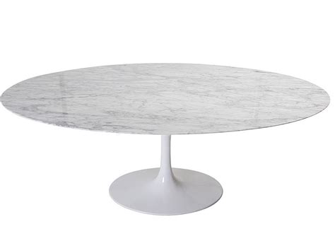marble tulip dining table replica oval tulip dining table by eero saarinen
