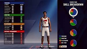 Nba 2k20 All Pie Charts For Every Build And Position Youtube