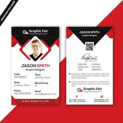 graphic resources    images id card