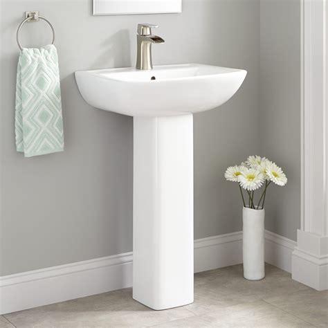 Pedestal Sink Bathroom by Kerr Porcelain Pedestal Sink Bathroom