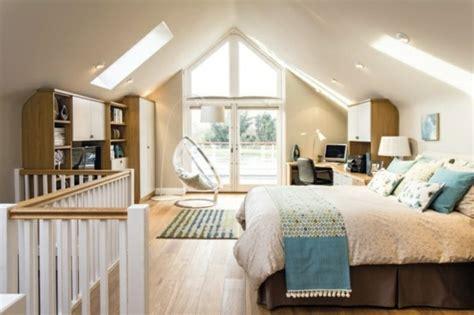 schlafzimmer ideen eine dachschräge schlafzimmer dachgeschoss gestalten