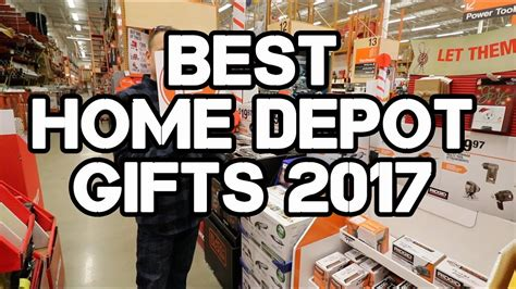 Home Depot Gift Center Tour  Top Gifts For 2017 Youtube