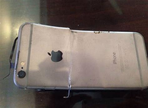 exploding iphone battery pocketfullofapps brand new iphone 6 explodes during