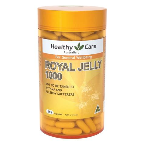royal jelly 2000mg capsules
