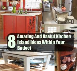 inexpensive kitchen island ideas 8 amazing and useful kitchen island ideas within your budget diy cozy home home