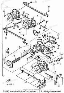 Yamaha Motorcycle 1986 Oem Parts Diagram For Carburetor