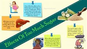 10 Effects Of Too Much Sugar On The Body