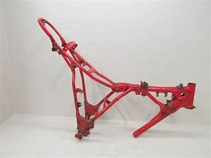 1987 87 1986 86 Yamaha Tt225 Tt 225 Frame Red Original