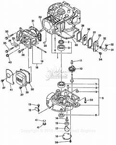 Robin  Subaru Eh18v Parts Diagram For Crankcase