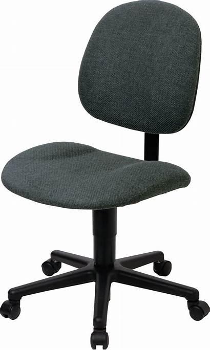 Chair Transparent Desk Clipart Office Clip Armchair