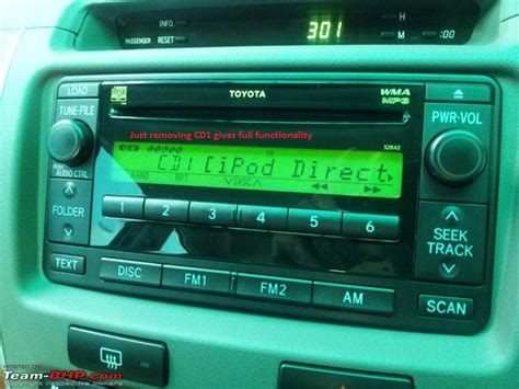 Car Aux Install by Diy How To Remove Stock Stereo Of Toyota Fortuner