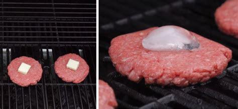 comment cuisiner un steak haché il met un cube de glace sur le steak haché pourquoi un