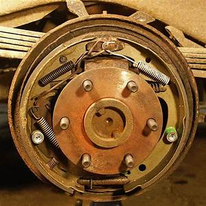 Rear Drum Brake Assembly  1996 Gmc Yukon  Tahoe  Suburban
