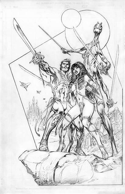 Davis Alan Carter Comics John Randy Dave