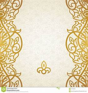 The gallery for --> Gold Pattern Border