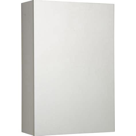 armoire de toilette l 40 cm blanc porte miroir modulo