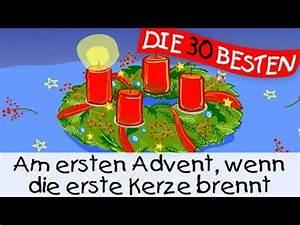 Wie Feiern Wir Weihnachten : am ersten advent wenn die erste kerze brennt weihnachtslieder zum mitsingen kinderlieder ~ Markanthonyermac.com Haus und Dekorationen