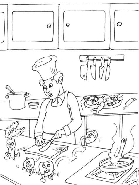 dessin de cuisine à imprimer coloriage cuisine les beaux dessins de autres à imprimer