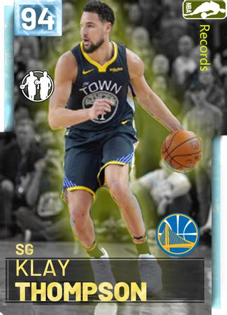 klay thompson nba  custom card kmtcentral