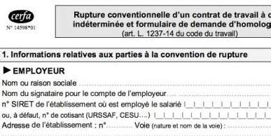 rupture conventionnelle cdi cadre jean bernard bouchard tag documents fin de contrat
