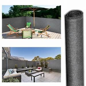 Brise Vue 220 G M2 : brise vue renforc 2 x 10 m gris 220 gr m luxe pro brise ~ Edinachiropracticcenter.com Idées de Décoration