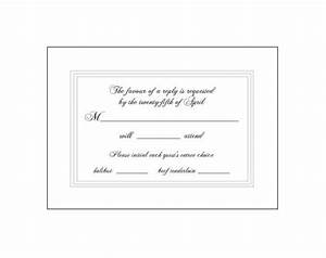 Sample wording for wedding rsvp cards baskanidaico for Wedding invitation for manager