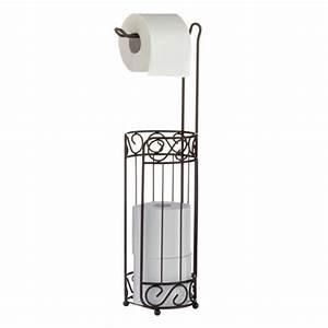 Toilettenpapierhalter Stehend Mit Bürste : axentia 282082 wc papierrollenst nder nostalgie ~ Markanthonyermac.com Haus und Dekorationen