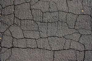 Cracked Black Top Asphalt Pavement Texture Picture | Free ...