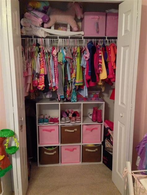 #Reorganized #girls #closet   Sloan's Room   Pinterest