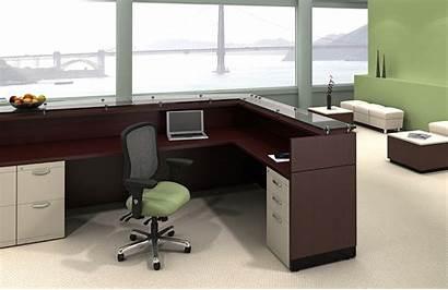 Reception Willow Desk Furniture Desks Office Area