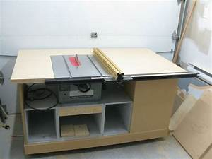 build table saw cabinet plans woodproject