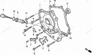 Honda Scooter 1998 Oem Parts Diagram For Right Crankcase