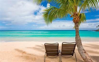 Beach Scene Desktop Backgrounds Wallpapers Summer Sunny