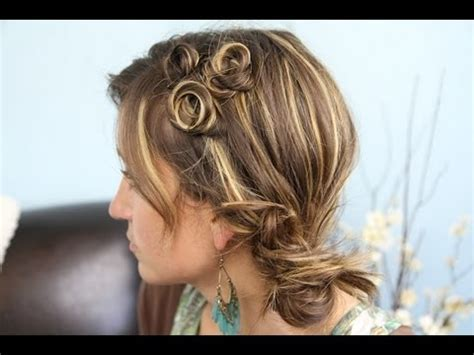 pin curl coil accents back to school cute girls